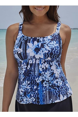 MAGNOLIA FLARED TANKINI SET