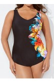 SALENTO SARONG FRONT ONE PIECE SWIMSUIT